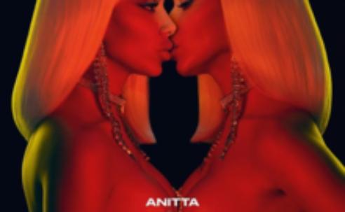 Álbum kisses da cantora brasileira Anitta tem as músicas mais ouvidas no mundo
